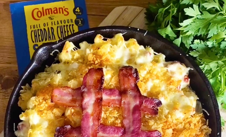 Colman's Gooey Mac and Cheese