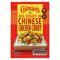 Colman's Big Night In Chinese Chicken Curry Recipe Mix 47 g 4 servings