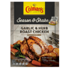 Colman's Season & Shake Garlic & Herb Roast Chicken Seasoning Mix 32g