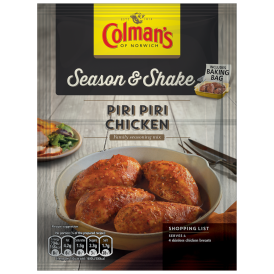 Colman's Season & Shake Piri Piri Chicken Recipe Mix 29g