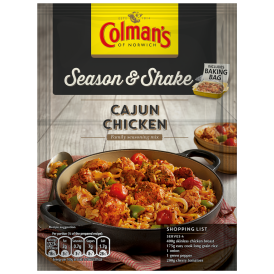 Colman's Season & Shake Cajun Chicken Seasoning Mix 45g